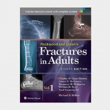 Rockwood and Green's Fractures in Adults 4 Volume Set) 8 ED 2015